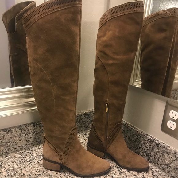 ab94e7b4a76d Vince Camuto Shoes | Karinda Over Knee Boots 75 Wide Calf | Poshmark